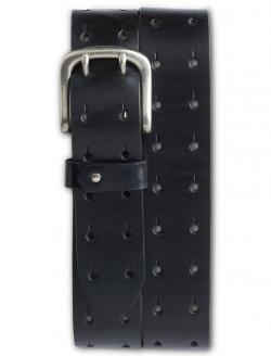 Harbor Bay Big & Tall Double-Prong Leather Belt