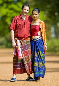 Traditional Thai clothes