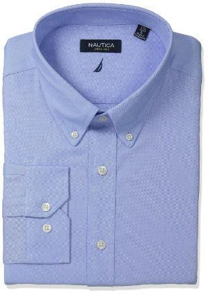 Men's Long Sleeve Oxford Shirt at Amazon