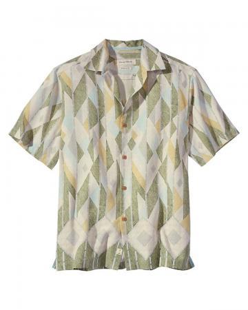 Tommy Bahama Men's Bayamo Geo Camp Shirt