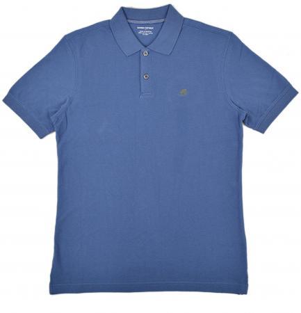 Banana Republic Men's Polo T-Shirt Bright Blue XL