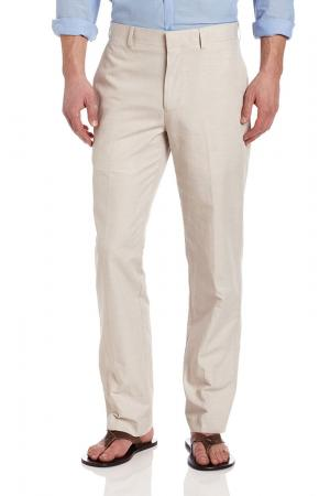 Cubavera Men's Linen-Cotton Herringbone-Textured Pant
