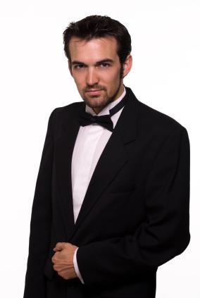 Tuxedo on a Handsome Man