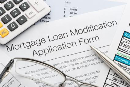 How do you calculate a loan modification?
