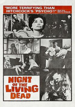 1968 Night of the Living Dead Poster