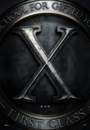 X-Men - First Class movie poster