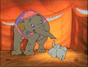 Mama and Baby Dumbo