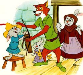Scene from Disney's Robin Hood