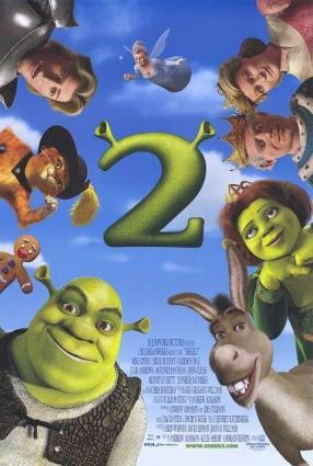 Shrek 2 movie poster