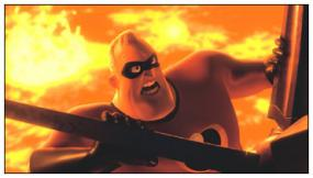 A scene from the Incredibles