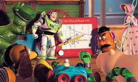 A Scene from Toy Story 2