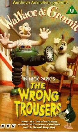 Wallace and Gromit Wrong Trousers poster