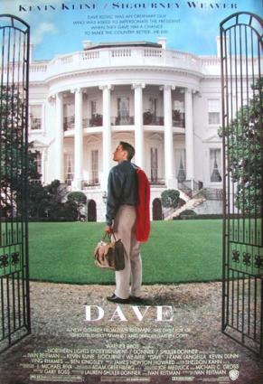 Dave movie poster