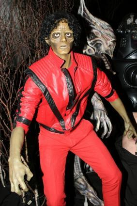 Michael Jackson's Thriller video costume re-creation