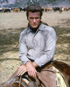Clint Eastwood in Rawhide