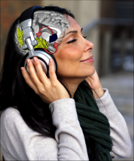 Woman Listening to Music Affecting the Brain | Photo © Peter Finnie and Ben Beheshti