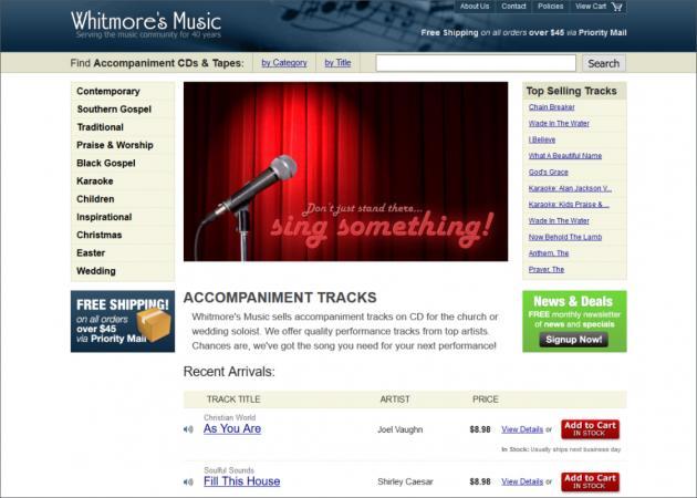 Whitmore's Music