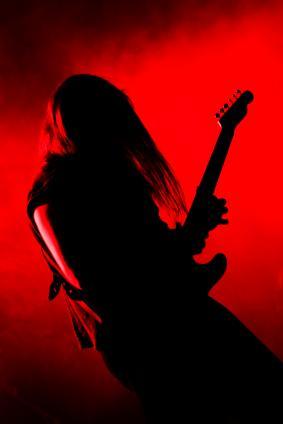 Metal Guitar Player
