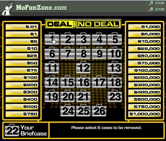 Play Deal or No Deal Online | Grosvenor Casinos