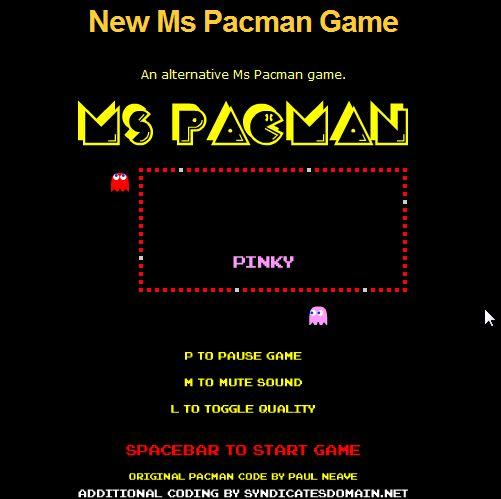 play ms pac man online do you want to play ms pac man online if so ...