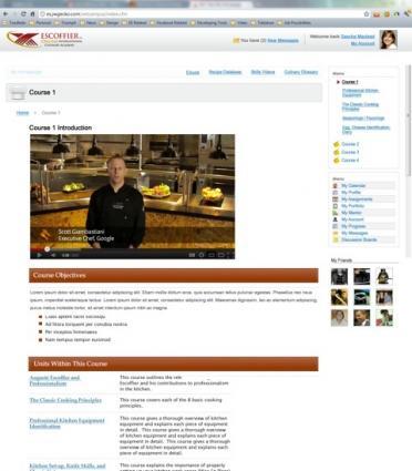 Escoffier Online Lesson