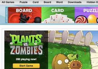 Plants vs. Zombies online game