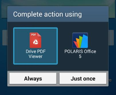 android drive pdf viewer option