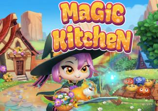 Screenshot of Magic Kitchen online game