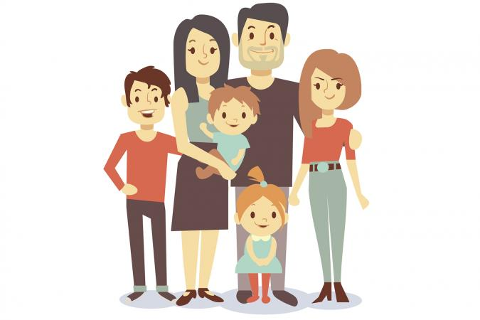 Virtual family