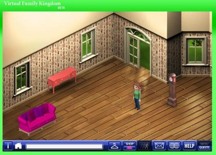 Virtual Family Kingdom is an online virtual game made by families for families.