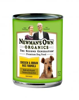 Newman's Own Organics Canned Dog Food at Amazon.com