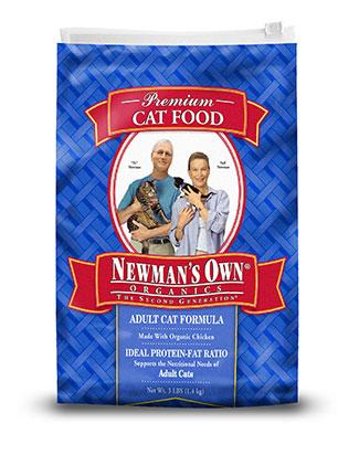 Newman's Own Organics cat food