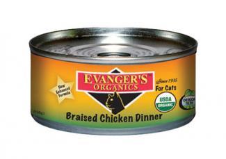 Evanger's Organics cat food