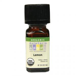 Organic lemon essential oil from Frontier Co-op