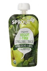 Sprouts Organic Squeezable Snack Pouch