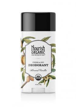 Nourish Organic Deodorant in Almond Vanilla