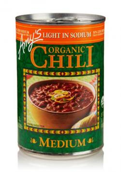 Amy's Organic Chili