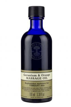 Geranium & Orange Massage Oil