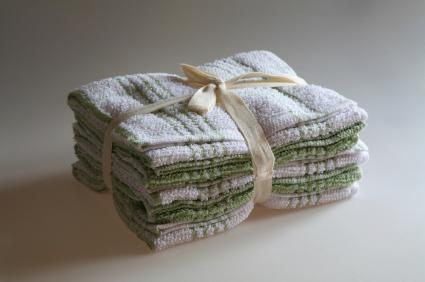 organic cotton dish cloth