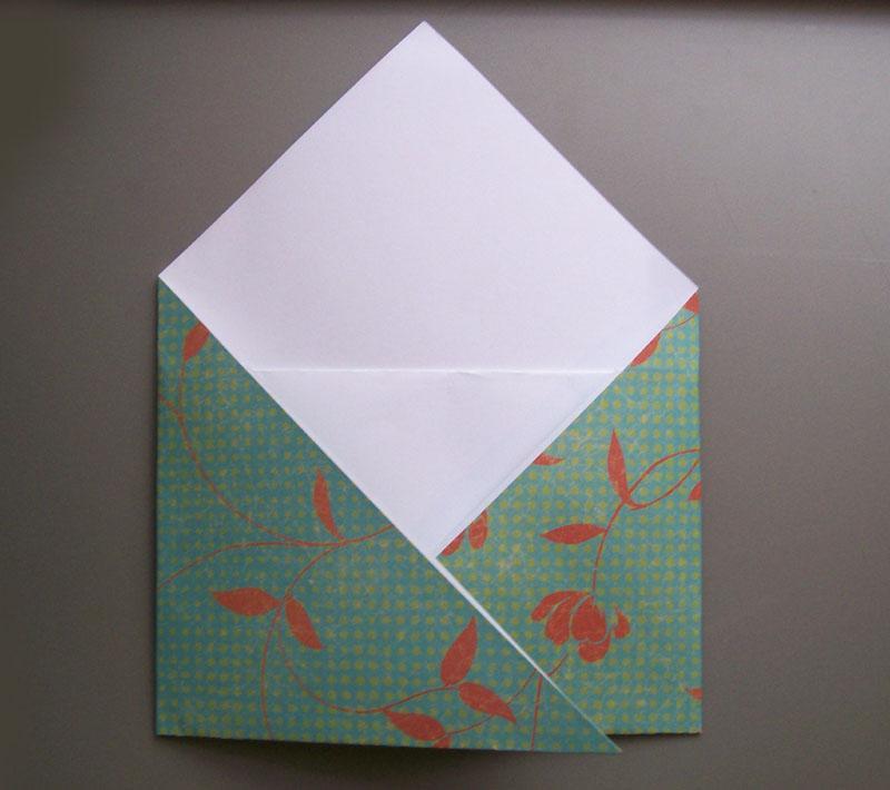 Origami Envelope Visual Instructions Slideshow
