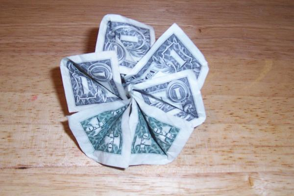dollar bill origami shirt. dollar bill origami shirt.