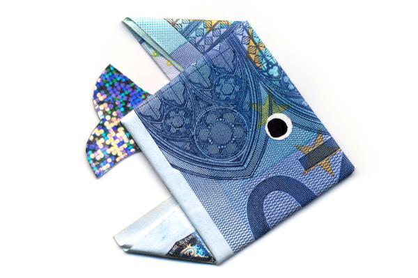 Origami Dollar Bill Frog