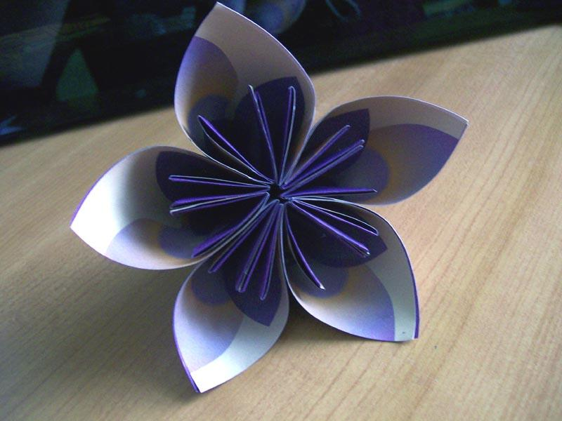 How to Make a Paper Flower | Origami Flower Tutorial Very Easy but ... | 600x800
