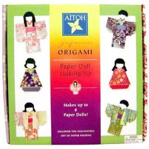Japanese Paper Doll Making Kit