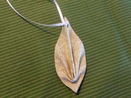 leaf ornament