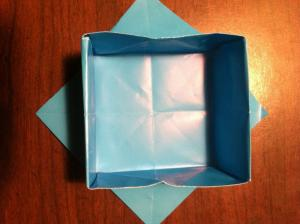 diamond origami box