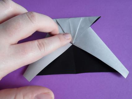 origami panda step 3