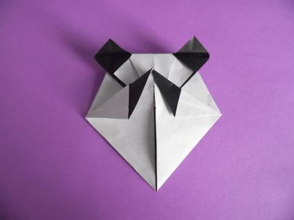 origami panda step 5