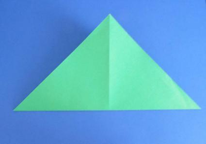 origami turtle step 1
