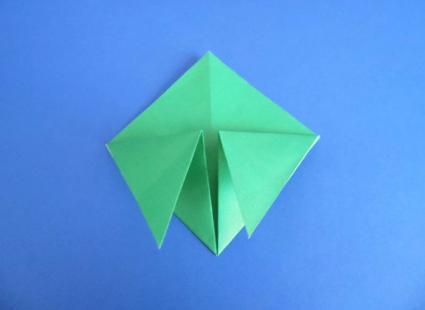 origami turtle step 2